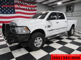 2012 Ram 2500 Dodge Laramie Longhorn 4x4 Diesel White Nav New Tires in Searcy, AR 72143