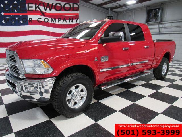 2012 Ram 2500 Dodge Laramie Longhorn 4x4 Diesel Red Mega Cab Low Miles in Searcy, AR 72143