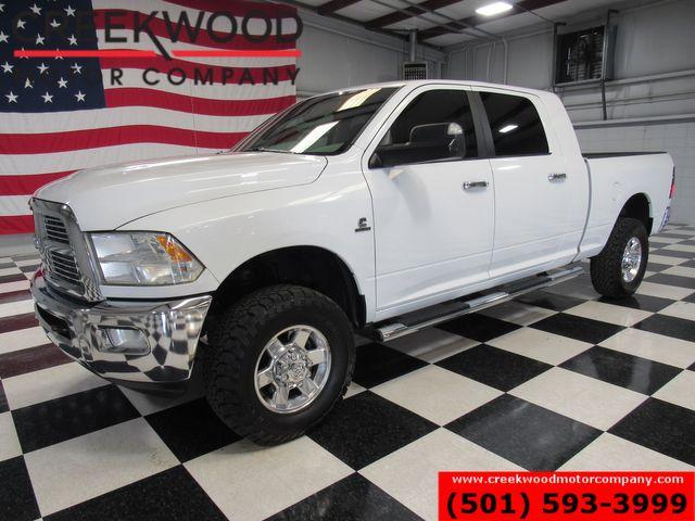 2012 Ram 2500 Dodge Lone Star SLT 4x4 Diesel Mega Cab White New Tires in Searcy, AR 72143