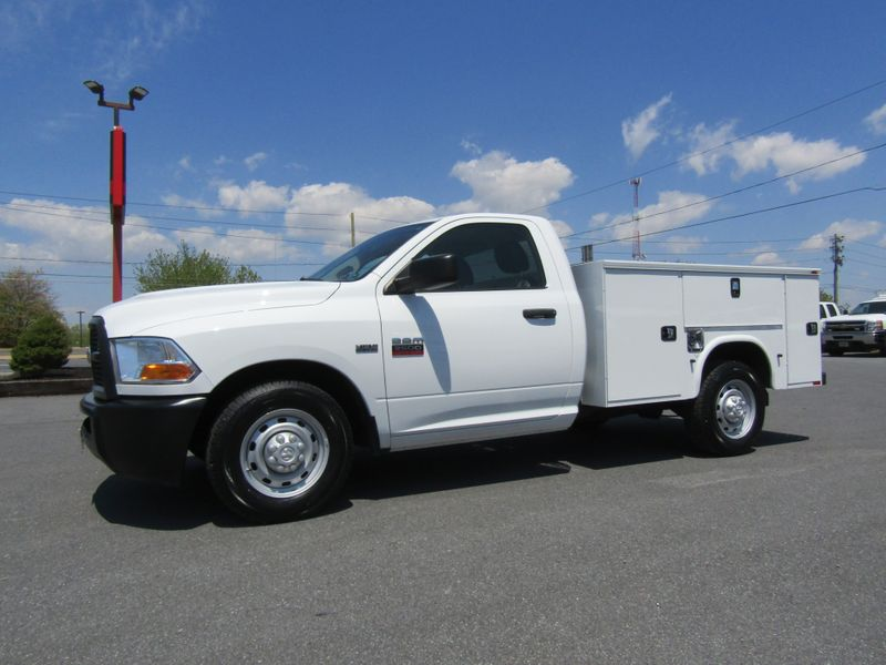 2012 Ram 2500 Regular Cab 2wd with New 8' Knapheide Utility Bed in Ephrata PA