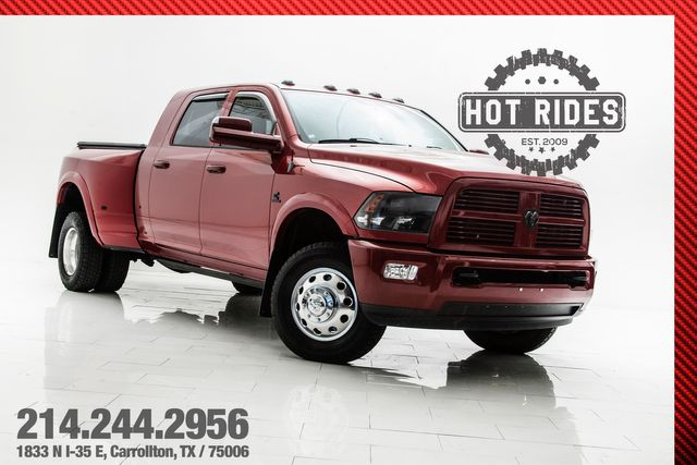 2012 Ram 3500 Laramie 6-Speed Big Turbo W/ Many Upgrades