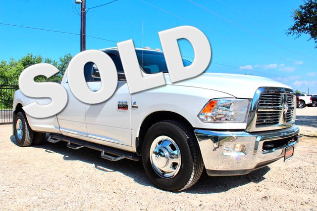 2012 Ram 3500 DRW Big Horn Crew Cab 2wd 6.7L Cummins Diesel Auto Sealy, Texas
