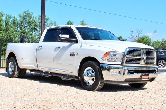2012 Ram 3500 DRW Big Horn Crew Cab 2wd 6.7L Cummins Diesel Auto Sealy, Texas 1
