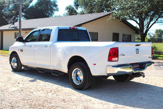 2012 Ram 3500 DRW Big Horn Crew Cab 2wd 6.7L Cummins Diesel Auto Sealy, Texas 7