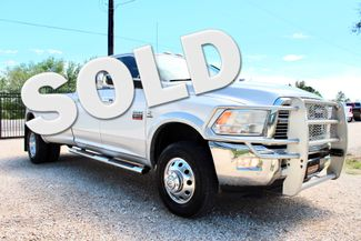 2012 Ram 3500 DRW Laramie Crew 4X4 6.7L Cummins Diesel Auto LOADED Sealy, Texas