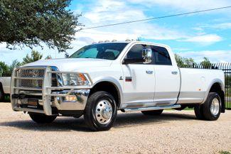 2012 Ram 3500 DRW Laramie Crew 4X4 6.7L Cummins Diesel Auto LOADED Sealy, Texas 5