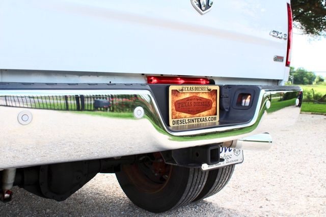 2012 Ram 3500 DRW Longhorn Laramie Mega Cab 4X4 6.7L Cummins Diesel Auto Loaded Lifted Sealy, Texas 19