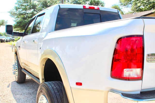 2012 Ram 3500 DRW Longhorn Laramie Mega Cab 4X4 6.7L Cummins Diesel Auto Loaded Lifted Sealy, Texas 8