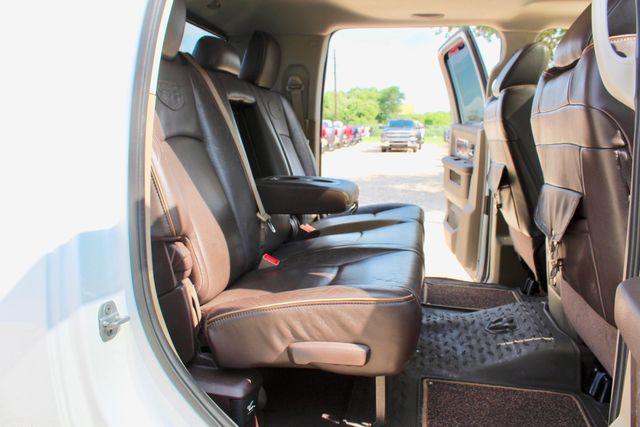 2012 Ram 3500 DRW Longhorn Laramie Mega Cab 4X4 6.7L Cummins Diesel Auto Loaded Lifted Sealy, Texas 47