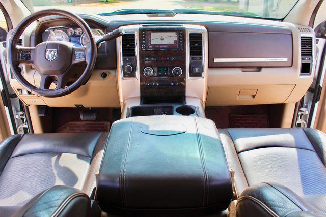 2012 Ram 3500 DRW Longhorn Laramie Mega Cab 4X4 6.7L Cummins Diesel Auto Loaded Lifted Sealy, Texas 58