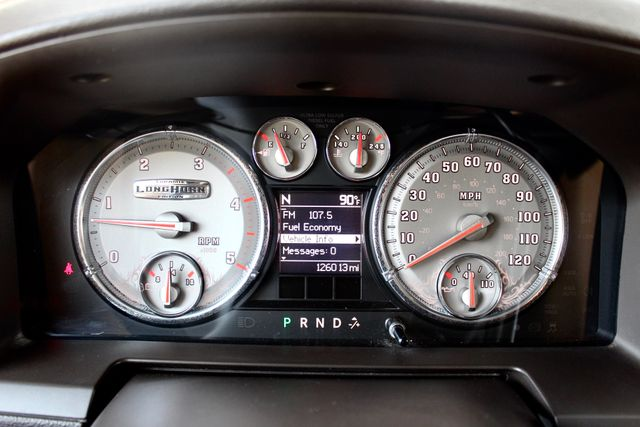 2012 Ram 3500 DRW Longhorn Laramie Mega Cab 4X4 6.7L Cummins Diesel Auto Loaded Lifted Sealy, Texas 62