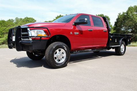 2012 Ram 3500 6 SPEED - 4X4 - FLATBED - LOW MILES in Liberty Hill , TX