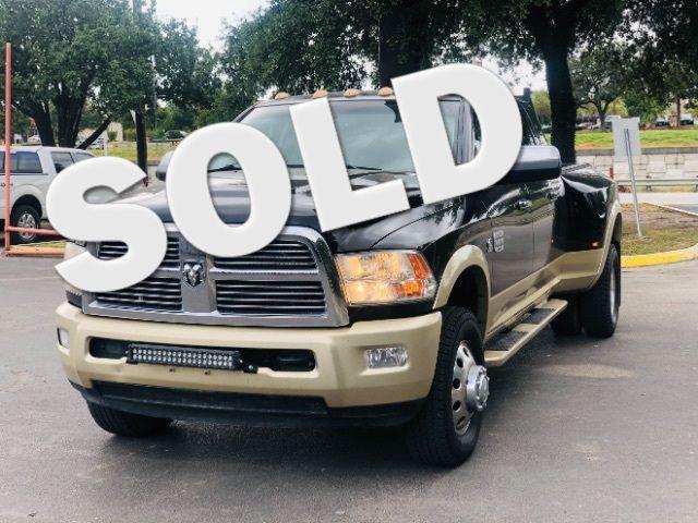 2012 Ram 3500 Laramie Longhorn in San Antonio, TX 78233