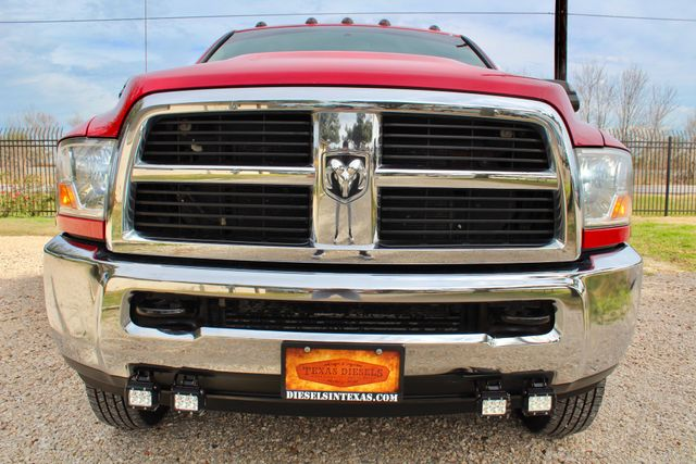 2012 Ram 3500 ST Crew Cab 4x4 6.7L Cummins Diesel 6 Speed Manual LOW MILES Sealy, Texas 13