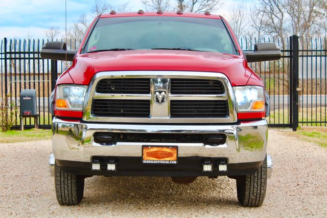 2012 Ram 3500 ST Crew Cab 4x4 6.7L Cummins Diesel 6 Speed Manual LOW MILES Sealy, Texas 3