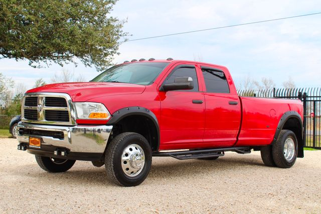 2012 Ram 3500 ST Crew Cab 4x4 6.7L Cummins Diesel 6 Speed Manual LOW MILES Sealy, Texas 5