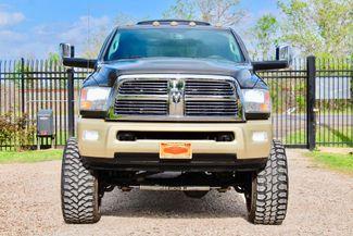 2012 Ram 3500 Laramie Longhorn Mega Cab 4x4 6.7L Cummins Diesel Dually LIFTED LOADED Sealy, Texas 3