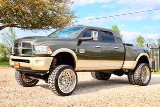 2012 Ram 3500 Laramie Longhorn Mega Cab 4x4 6.7L Cummins Diesel Dually LIFTED LOADED Sealy, Texas 5