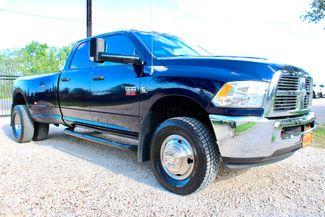 2012 Ram 3500 DRW SLT Crew Cab 4X4 6.7L Cummins Diesel 6 Speed Manual Sealy, Texas
