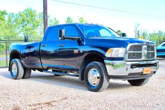 2012 Ram 3500 DRW SLT Crew Cab 4X4 6.7L Cummins Diesel 6 Speed Manual Sealy, Texas 1