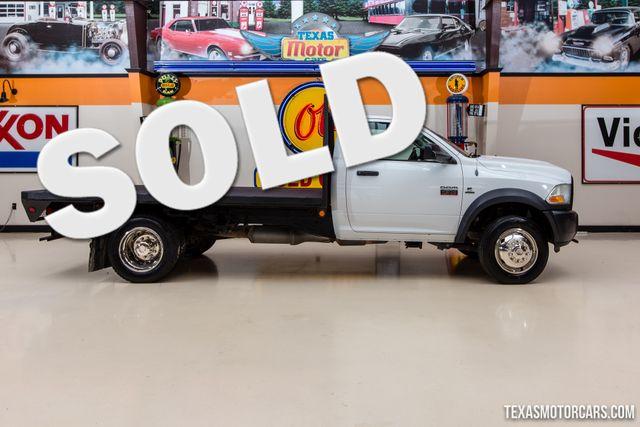 2012 Ram 4500 ST Flatbed 4X4