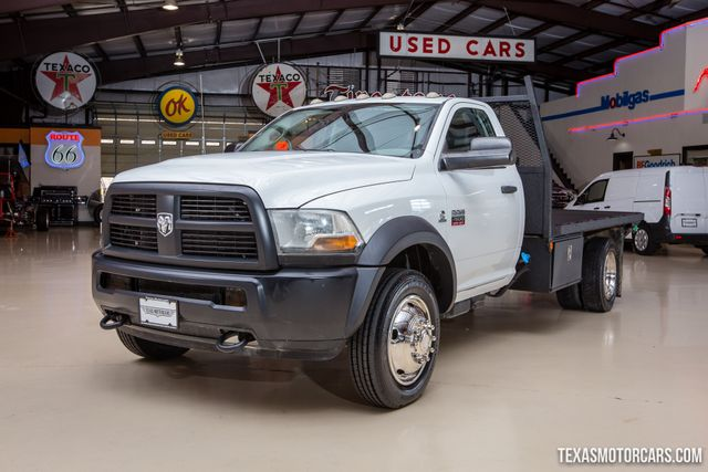 2012 Ram 4500 ST Flatbed 4X4 in Addison Texas, 75001