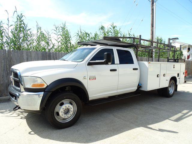2012 Ram 4500 ST 4X4 UTILITY BED