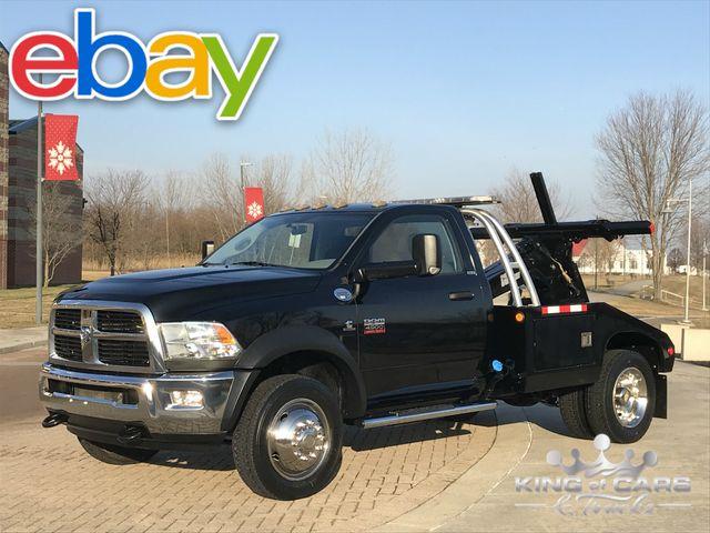 2012 Ram 4500 Slt Cummins Diesel VULCAN SELF LOADER 10K MILES 1-OWNER in Woodbury, New Jersey 08096