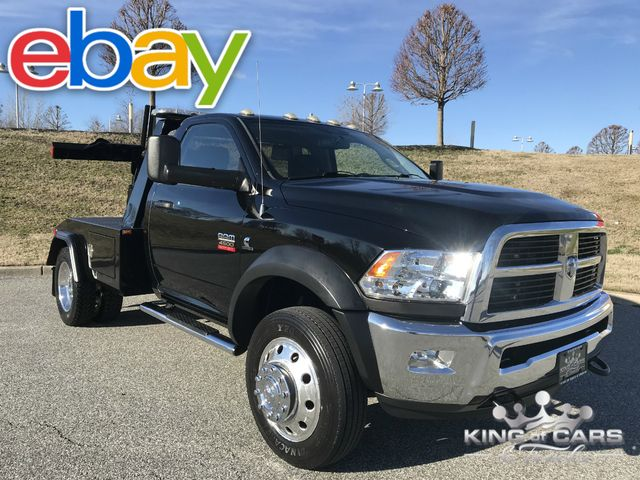 2012 Ram 4500 Slt Diesel Jerr -DAN SELF LOADER 153K MILES 1-OWNER MINT