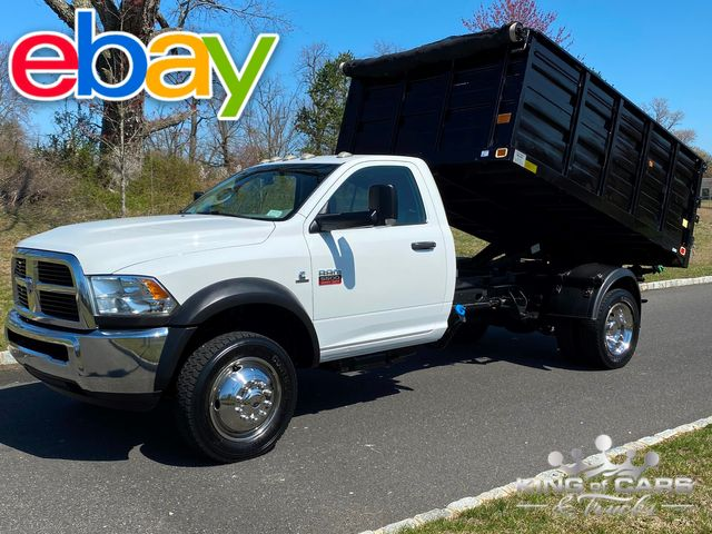 2012 Ram 5500 Rcab 4x4 6.7l CUMMINS DIESEL DUMP 1-OWNER ONLY 54K MILE