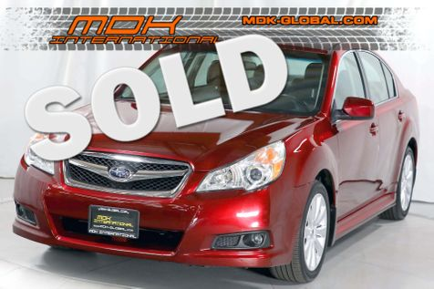 2012 Subaru Legacy 2.5i Limited - 1 owner - only 26K miles in Los Angeles