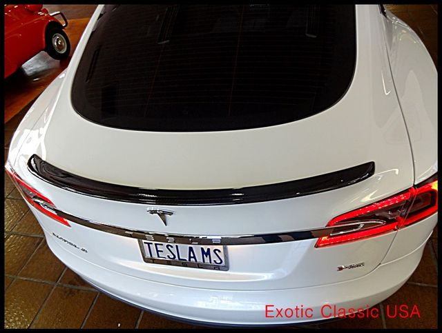 2012 Tesla Model S Signature Performance autographed by Elon Musk San Diego, California 45