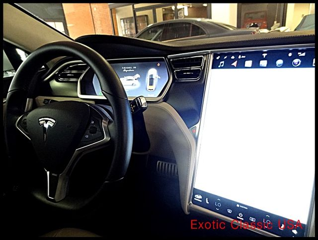 2012 Tesla Model S Signature Performance autographed by Elon Musk San Diego, California 94