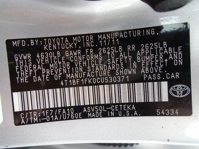 2012 Toyota Camry LE in Alpharetta, GA 30004