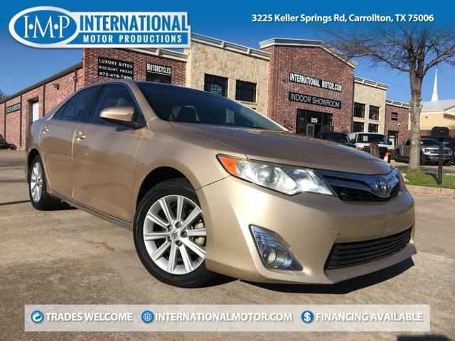 2012 Toyota Camry XLE ONE OWNER