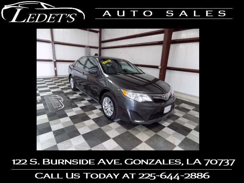 2012 Toyota Camry LE - Ledet's Auto Sales Gonzales_state_zip in Gonzales Louisiana