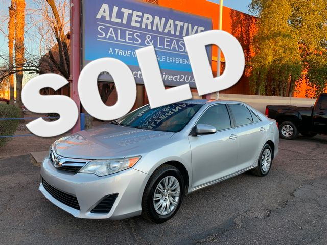 2012 Toyota Camry LE 3 MONTH/3,000 MILE NATIONAL POWERTRAIN WARRANTY Mesa, Arizona