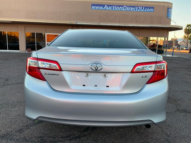 2012 Toyota Camry LE 3 MONTH/3,000 MILE NATIONAL POWERTRAIN WARRANTY Mesa, Arizona 3