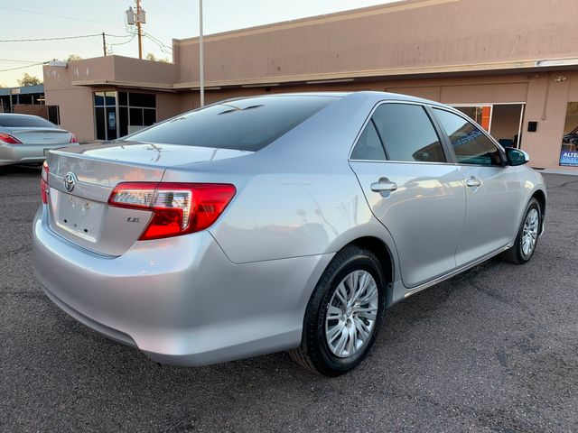 2012 Toyota Camry LE 3 MONTH/3,000 MILE NATIONAL POWERTRAIN WARRANTY Mesa, Arizona 4