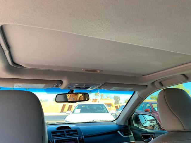 2012 Toyota Camry XLE 3 MONTH/3,000 MILE NATIONAL POWERTRAIN WARRANTY Mesa, Arizona 17