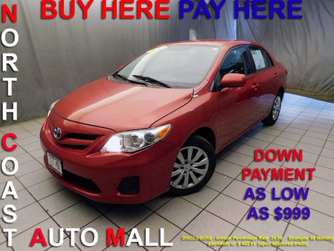 2012 Toyota Corolla LEAs low as $999 DOWN in Cleveland, Ohio