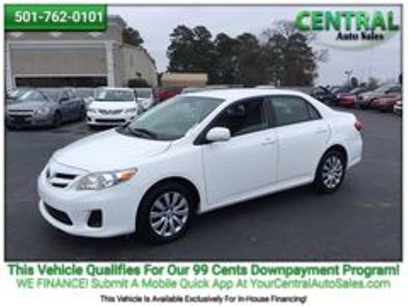 2012 Toyota COROLLA    Hot Springs, AR   Central Auto Sales in Hot Springs AR