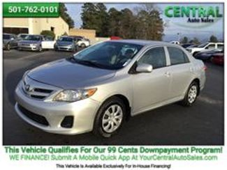2012 Toyota COROLLA/PW    Hot Springs, AR   Central Auto Sales in Hot Springs AR