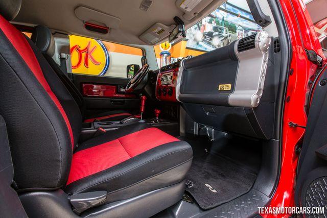 2012 Toyota FJ Cruiser 4X4 Trails Teams Edition in Addison, Texas 75001