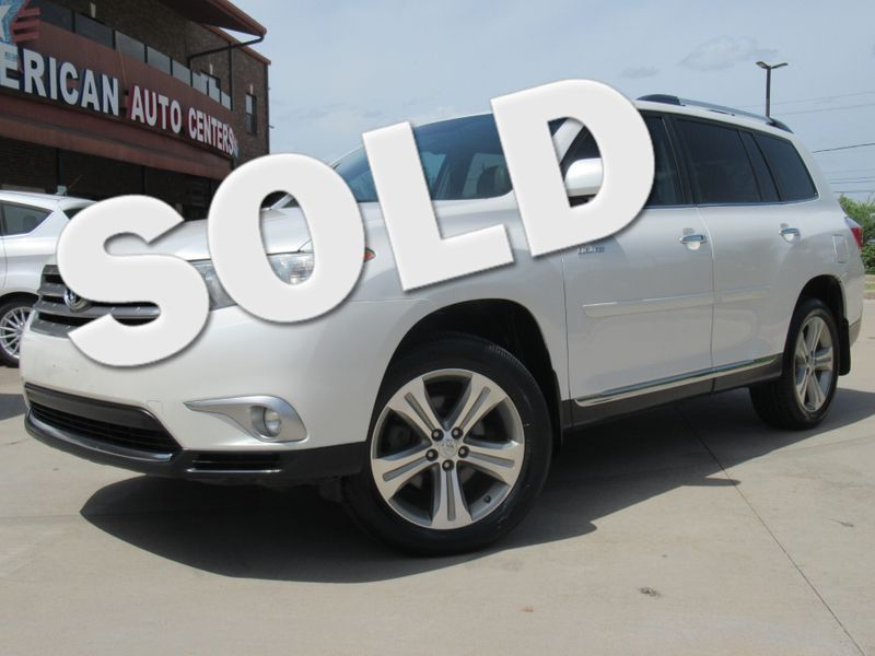 2012 Toyota Highlander Limited 4WD | Houston, TX | American Auto Centers in Houston TX