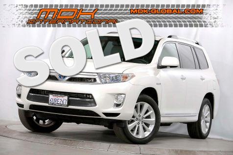 2012 Toyota Highlander Hybrid Limited - 4WD - 3rd row seats - JBL Sound in Los Angeles