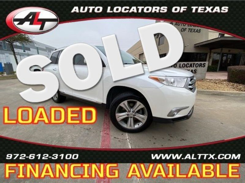 2012 Toyota Highlander Limited | Plano, TX | Consign My Vehicle in Plano TX