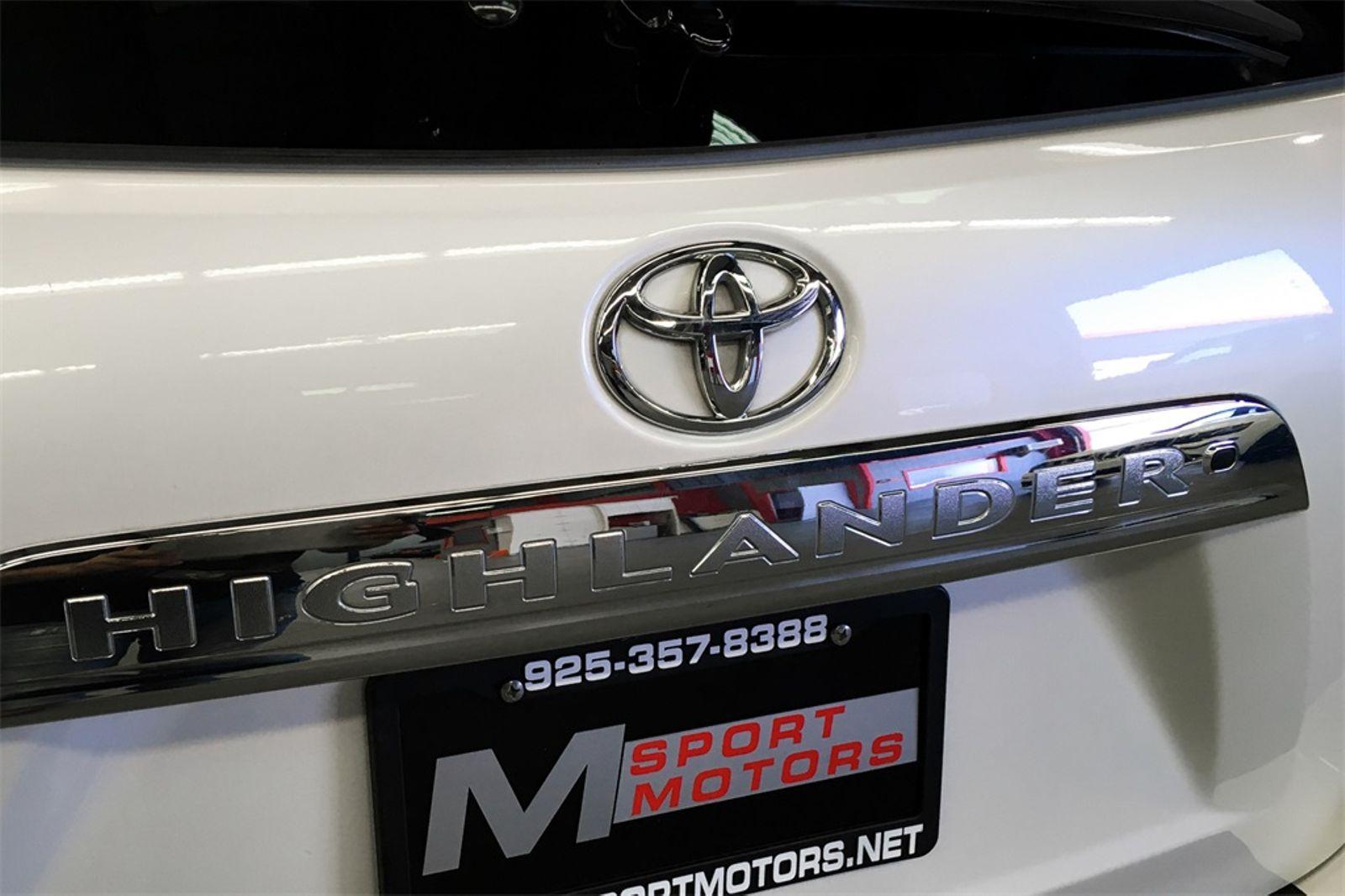 ... 2012 Toyota Highlander SE City CA M Sport Motors In Walnut Creek, ...