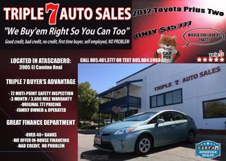 2012 Toyota Prius Two in Atascadero CA, 93422