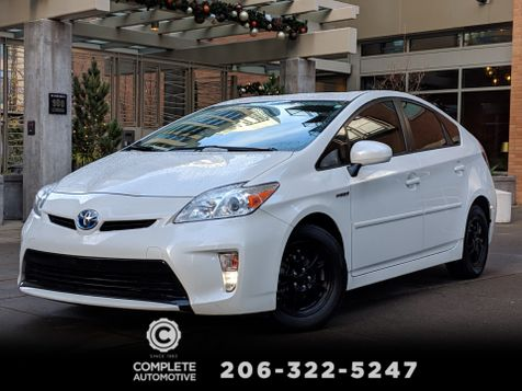 2012 Toyota Prius Four 1 Owner Heated Leather Rear Camera Navigation JBL in Seattle
